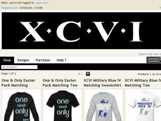Shop at xcvi.spreadshirt.com