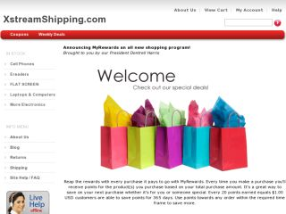 Shop at xstreamshipping.com