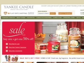 Shop at yankeecandle.com