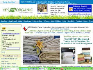 Shop at yesitsorganic.com