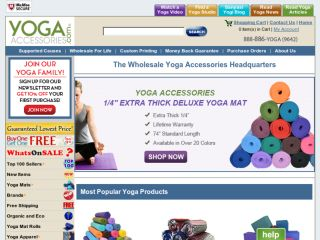 Shop at yogaaccessories.com