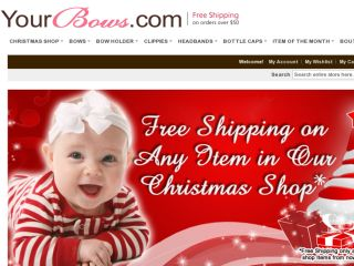 Shop at yourbows.com