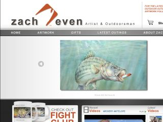 Shop at zachevenart.com