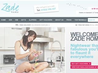 Shop at zadehome.com