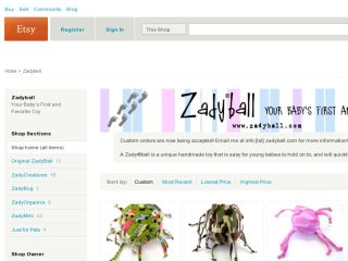 Shop at zadyball.com