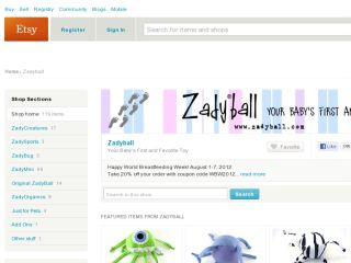 Shop at zadyball.etsy.com