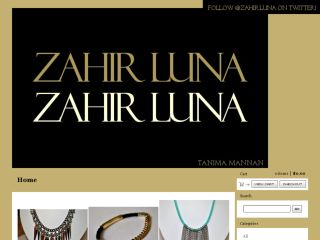 Shop at zahirluna.bigcartel.com