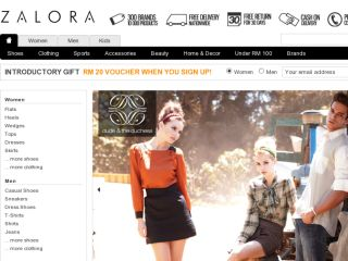 Shop at zalora.com.my