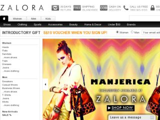 Shop at zalora.sg