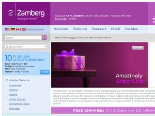 Shop at zamberg.com
