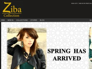 Shop at zibacollection.co.uk