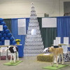 Exhibits and Displays | Specializing in Fiberglass Animals for Community Art Projects | Cowpainters