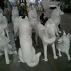Custom Work | Specializing in Fiberglass Animals for Community Art Projects | Cowpainters