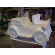 Kiddie Car – 1920's Fire Truck | Fiberglass Animal