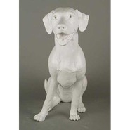 Dog - Labrador Retriever - Large & Lifesize Sitting | Fiberglass Animal