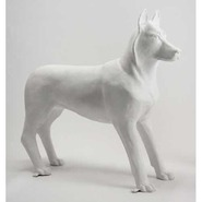 Dog - Husky - Lifesize & Table Top Standing | Fiberglass Animal
