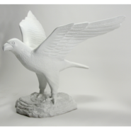 Bird - Falcon on Rock   | Fiberglass Animal
