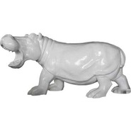 Hippo - Small Standing | Fiberglass Animal
