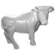 Cow - Ox - Midsize | Fiberglass Animal