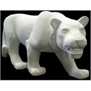 Tiger - Midsize Stalking | Fiberglass Animal