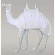 Camel - Lifesize with saddle | Fiberglass Animal