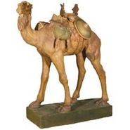 Camel - Small with Saddle | Fiberglass Animal