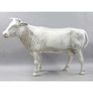 Cow - Lifesize Dairy with Horns | Fiberglass Animal