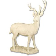 Deer - Whitetail on Base | Fiberglass Animal