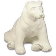 Bear - Brown - Table Top Sitting | Fiberglass Animal
