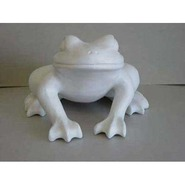 Frog - Table Top Resting | Fiberglass Animal