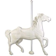 Carousel Horse - Large Prancer | Fiberglass Animal