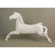Carousel Horse - Midsize Antique Jumper | Fiberglass Animal