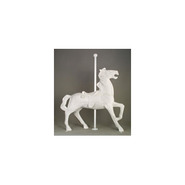 Carousel Horse - Midsize Antique Prancer | Fiberglass Animal