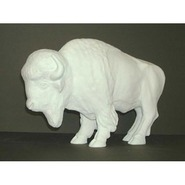 Buffalo - Table Top & Souvenir Size | Fiberglass Animal