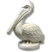 Bird - Pelican on Base | Fiberglass Animal