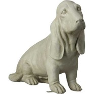 Dog - Basset Hound Sitting | Fiberglass Animal