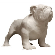 Dog - Bulldog - Oversize | Fiberglass Animal