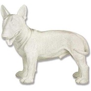 Dog - Bull Terrier | Fiberglass Animal