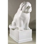 Dog - Newfoundland - Large on Pedestal | Fiberglass Animal