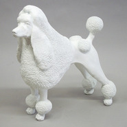 Dog - Poodle | Fiberglass Animal