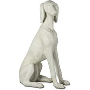 Dog - Saluki | Fiberglass Animal