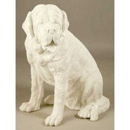 Dog - Midsize St. Bernard | Fiberglass Animal