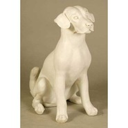 Dog - Sitting Puppy | Fiberglass Animal