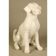 Dog - Sitting Puppy   Fiberglass Animal
