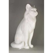Cat - Large Sitting | Fiberglass Animal