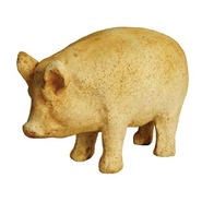 Pig - Piglet –  Souvenir Size Antique  | Fiberglass Animal