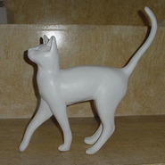 Cat - Table Top Walking | Fiberglass Animal