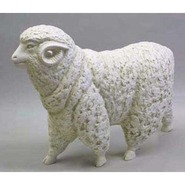 Sheep - Ram | Fiberglass Animal