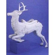 Carousel Reindeer - Leaping | Fiberglass Animal