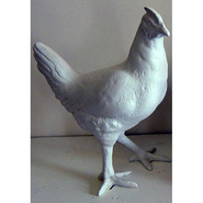 Bird - Hen Walking | Fiberglass Animal